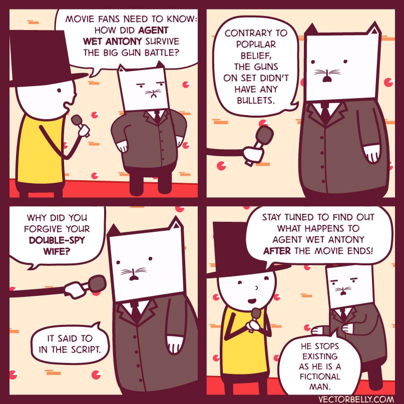 VectorBelly Webcomics